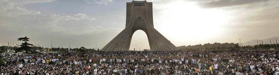 آزادی ، اعتراض در خیابانهای تهران