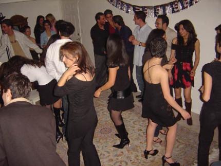 Tehran party